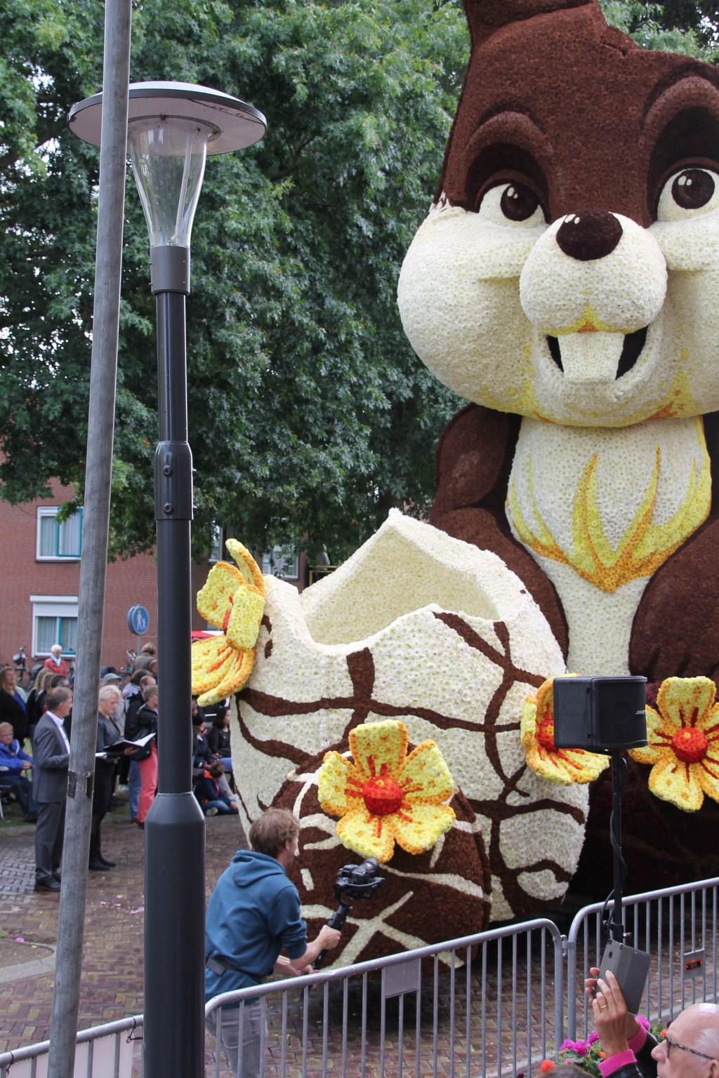 'Chocolade' door corsogroep Lansink-Bluiminck. Foto: Annekée Cuppers  © Achterhoek Nieuws b.v.