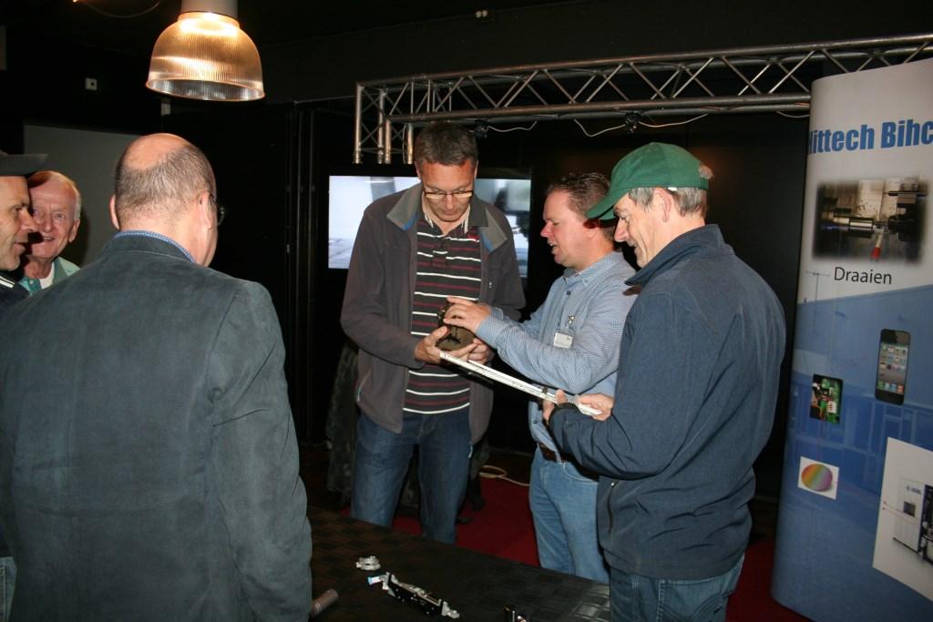 Ook Hittech Bihca was aanwezig. Foto: Lydia ter Welle  © Achterhoek Nieuws b.v.