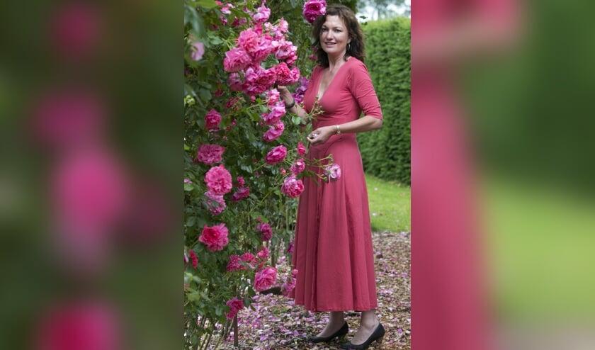 Auteur en tuinontwerpster Martje van den Bosch is te gast bij Groei & Bloei. Foto: PR