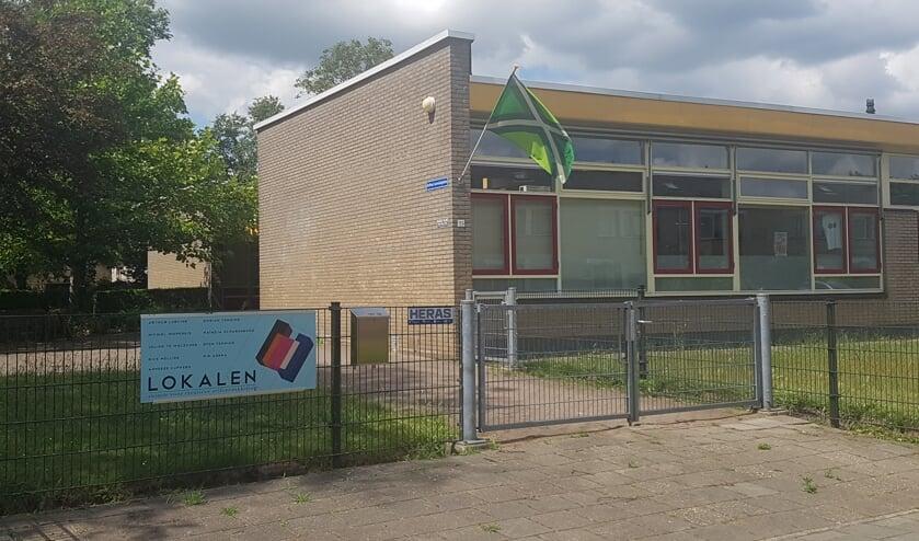 Lokalen in de voormalige Rosvoort-school aan de Frans Halsstraat. Foto: archief