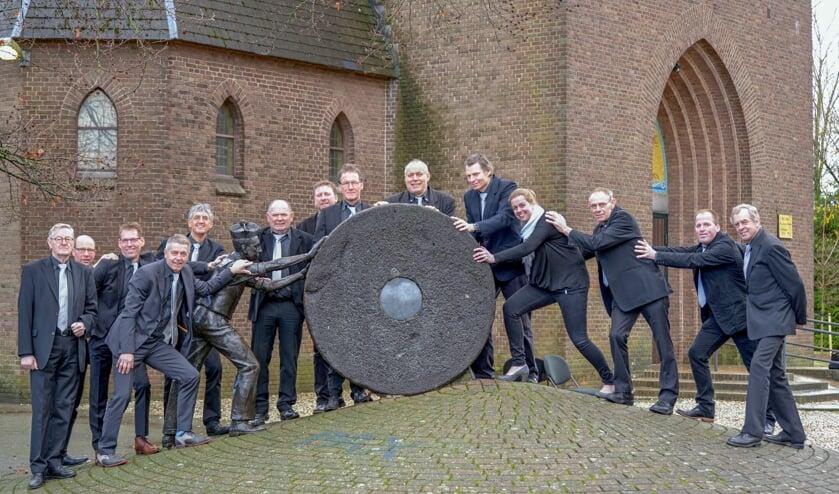 Het Heerenkoor uit Keijenborg. Foto: Norbert Goossens