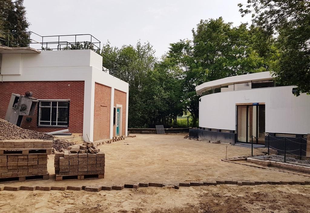 Het nieuwe bezoekerscentrum van natuurpark Kronenkamp. Foto: JdW Studios Foto:  © Achterhoek Nieuws b.v.