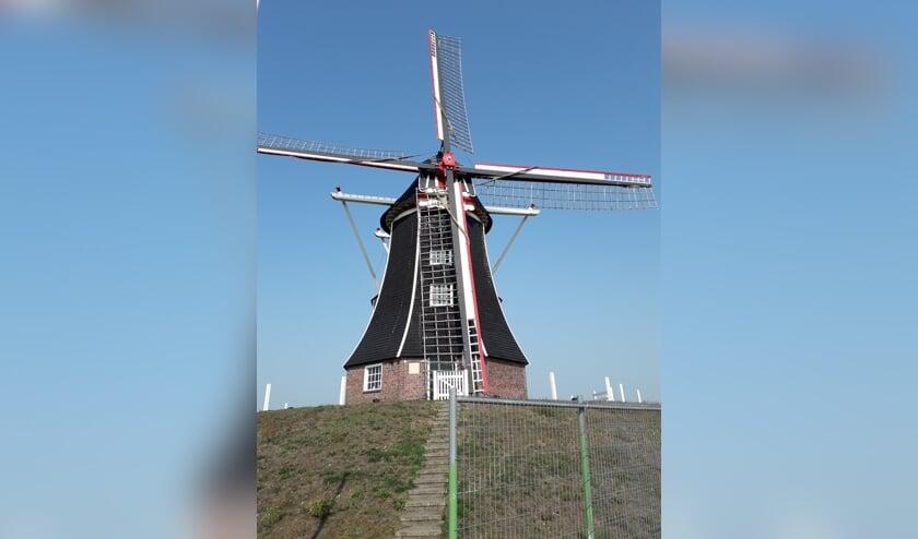 De monumentale molen is aanstaande zaterdag te bezoeken. Foto: PR Hermien