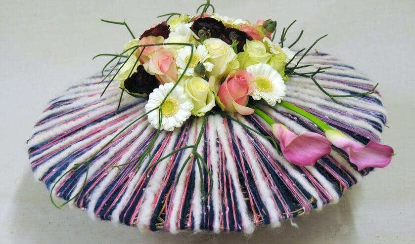 Een voorbeeld van een bloemstuk.Foto: PR