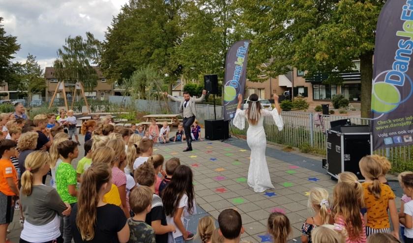 Feestelijke opening van school- en schoolplein van de Bernardus in Keijenborg. Foto:Marloes Geurtzen - van Haaren