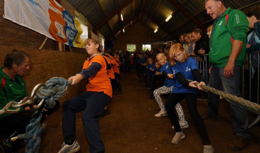 In de strijd om het kampioenschap trok de Hoge Voorde (links) De Kraanvogel 2 over de eindstreep. Foto: Achterhoekfoto.nl/Paul Harmelink.