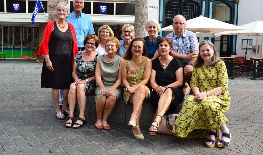 De vrijwilligers van VVV Zutphen. Uiterst rechts Wendelien Jansen. Foto: Alize Hillebrink