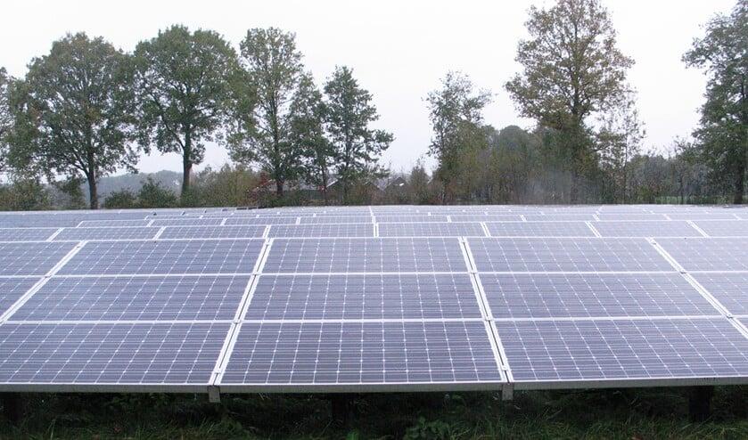 Het energiepark in Ratum leidde tot beleidskader voor zonneparken. Foto: Bernhard Harfsterkamp