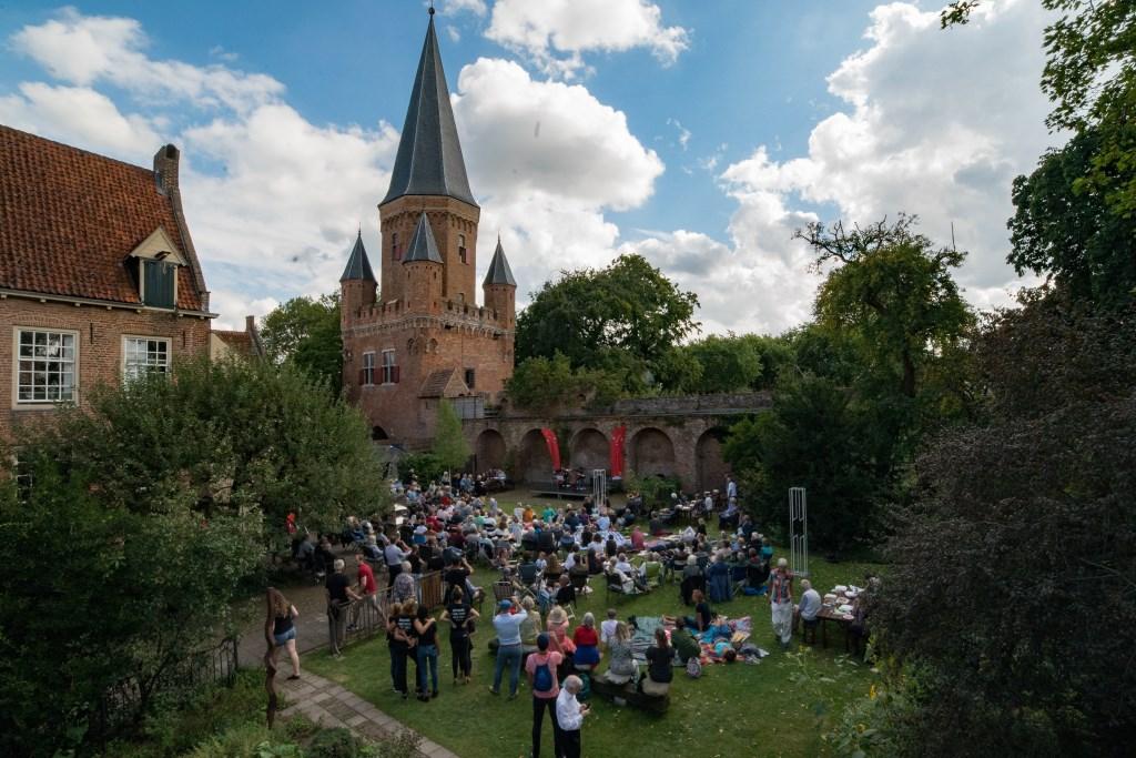 Eindconcert in de tuin van Dat Bolwerck. Foto: Jascha Bordon  © Achterhoek Nieuws b.v.