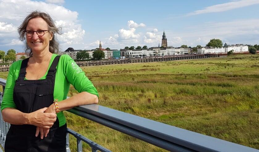 Klusdame Carolien Verbruggen. Foto: Jolien Wilmar