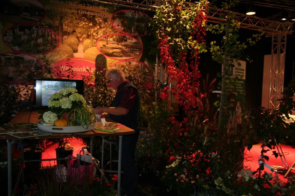De kleurrijke stand van Wenninkhof.  Foto: Lydia ter Welle  © Achterhoek Nieuws b.v.