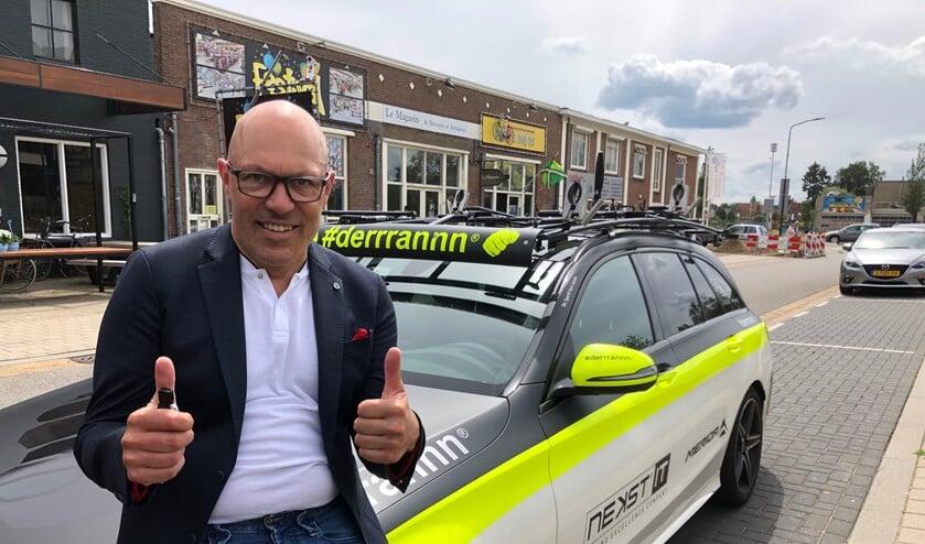 Oud-wielrenner en entertainer Gert Jakobs komt naar het Doetinchemse wielercafé. Foto: PR