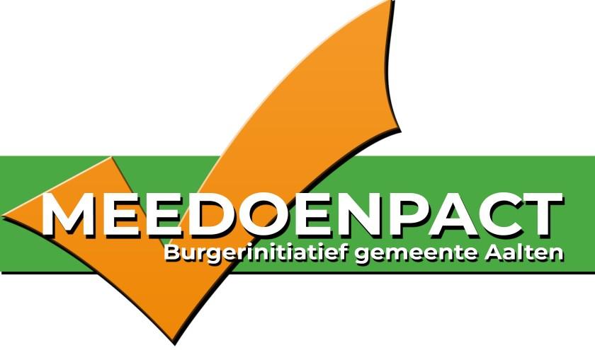 Het logo van het Meedoenpact. Afbeelding PR