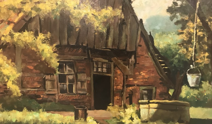 Een schilderij van Piet te Lintum. Foto: PR