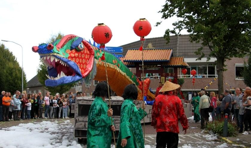 Het Chinees Nieuwjaar werd in 2018 door zowel de jury als het publiek gewaardeerd. Foto: Achterhoekfoto.nl/Liesbeth Spaansen