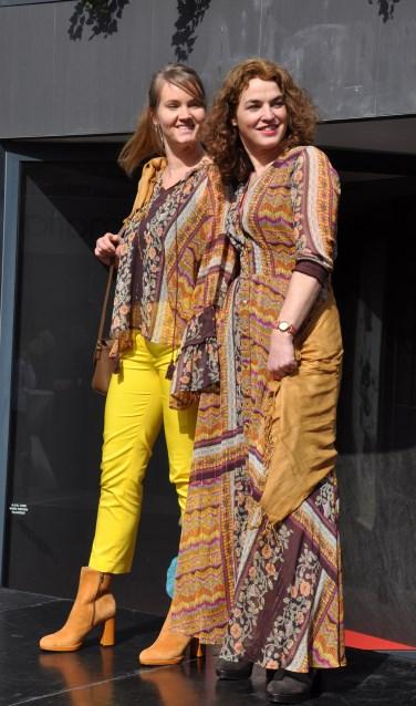Over de binnenstad verspreid zijn op 29 september catwalks, waarop mannequins de nieuwe modetrends laten zien. Foto: PR