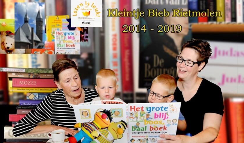 Kleintje Bieb in Rietmolen viert feest. Foto: Theo Temmink