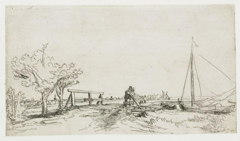 Een werk van Rembrandt. Foto: Rijksmuseum