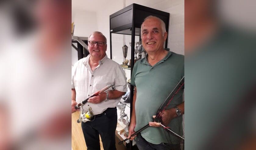 Arie Doornink (rechts) en Wilfried Brand. Foto: Han Rutgers