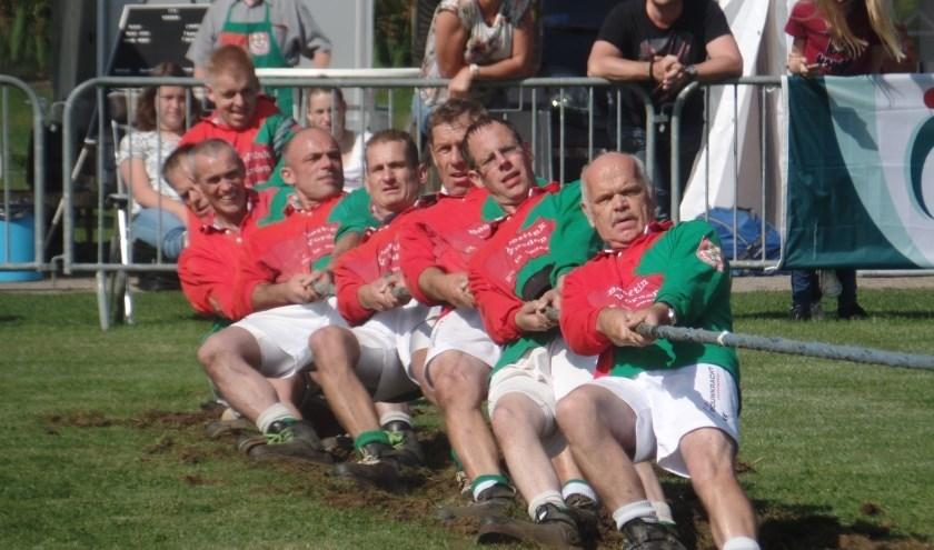 Een deel van het team van TTV Vorden dat naar het EK in Ierland gaat. Foto: PR.