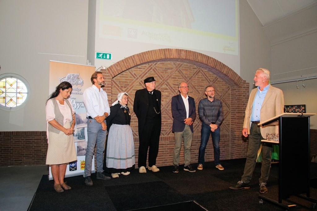 De genomineerden voor de erfgoedprijs. Foto: Frank Vinkenvleugel  © Achterhoek Nieuws b.v.