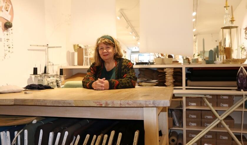 Judith Blekman, voorzitter van de stichting Ambacht 21, in Radijs Conceptstore in Zutphen. Foto: PR