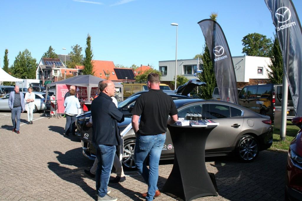 Mazda Winkelhorst toonde diverse modellen. Foto: Lydia ter Welle  © Achterhoek Nieuws b.v.