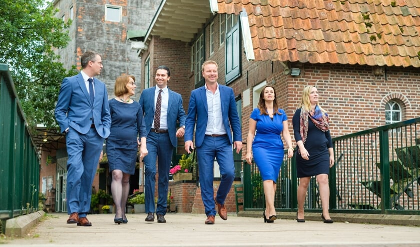 Het team van Juust. Foto Martin Hogeboom