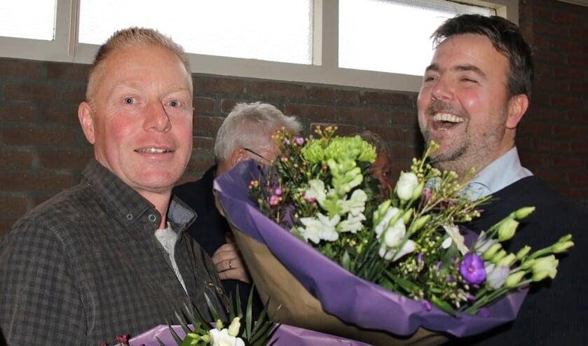 René Riethorst en Wilber de Heus benoemd tot Lid van Verdienste. Foto: PR