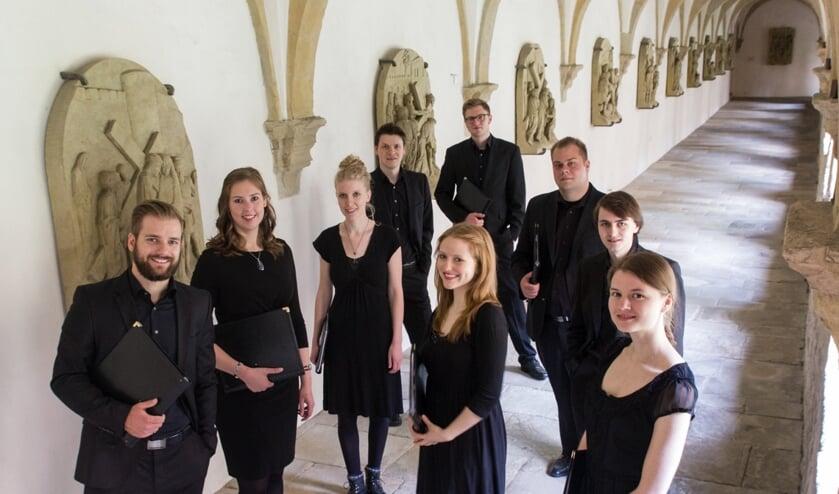 Junge Vokalensemble Osnabrück. Foto: Oliver Battke