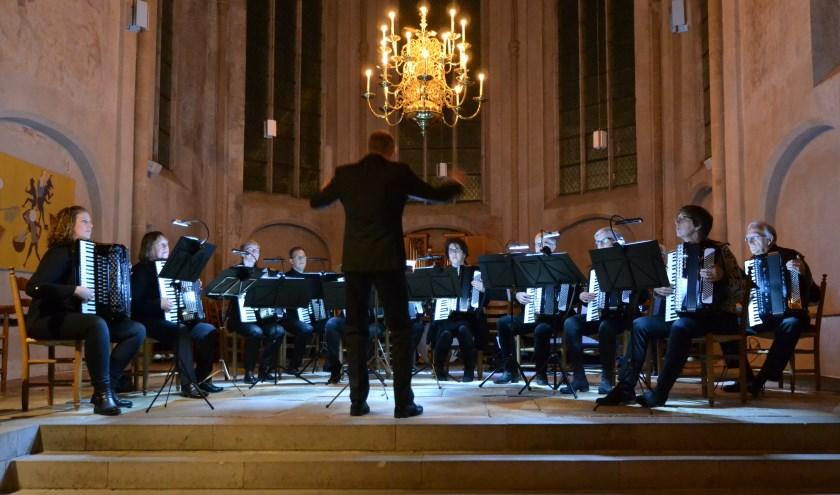 Het orkest in actie. Foto: PR