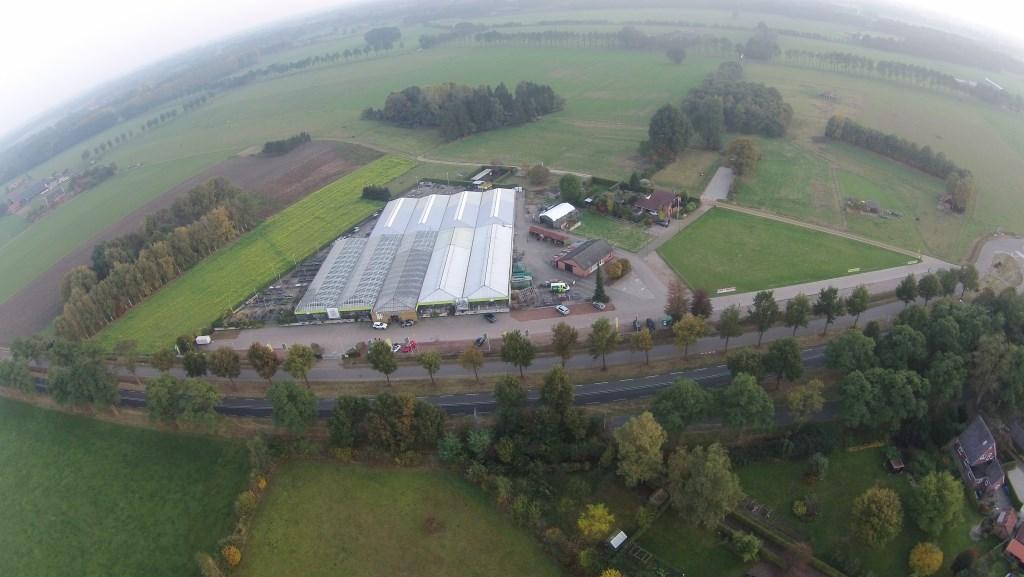 Intratuin Bredevoort vanuit de lucht. Foto: PR  © Achterhoek Nieuws b.v.