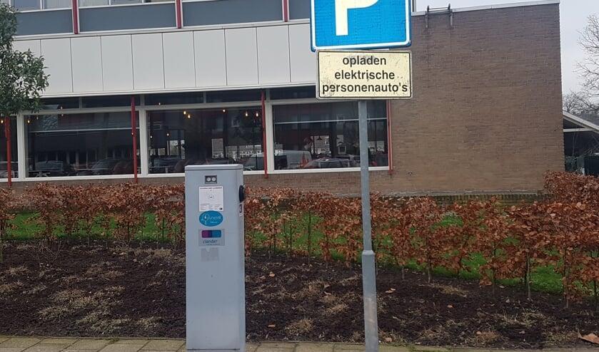 In Groenlo is een oplaadpunt bij de Molenberg aan de Ziekenhuisstraat.