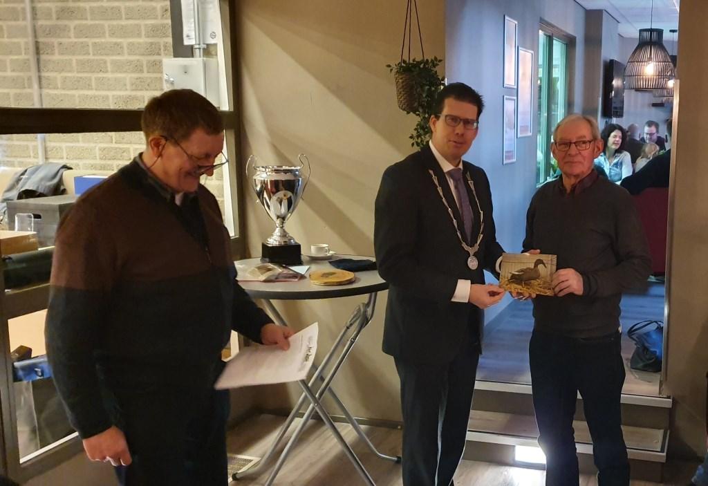 Hoofdereprijs winnaar B. Peters uit Hengelo Gld. Foto: Rob Weeber  © Achterhoek Nieuws b.v.