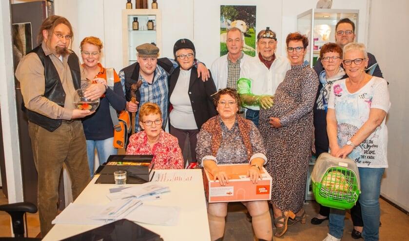 De toneelgroep van het Brooks Toneel. Foto: PR.