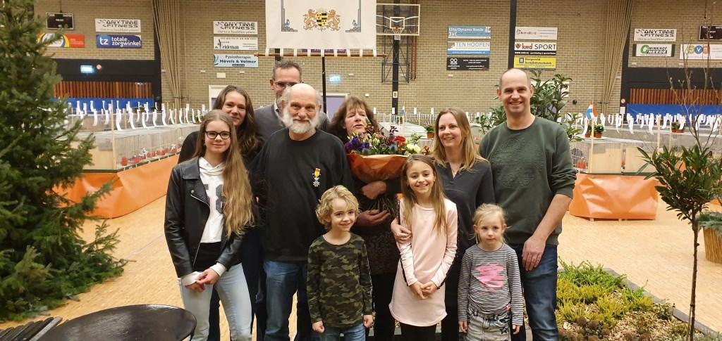 De Familie Krooshof op de show. Foto: Rob Weeber  © Achterhoek Nieuws b.v.