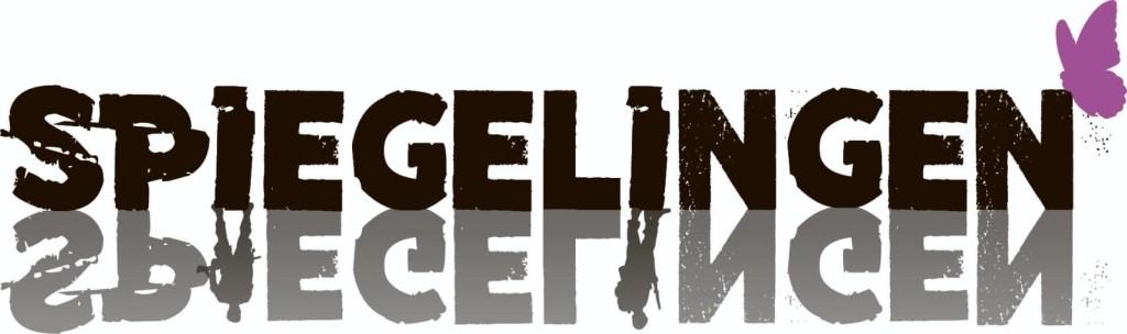 Het logo van theaterstuk 'Spiegelingen'. ontworpen door Lisa Wellink, werd vanavond onthuld.  © Achterhoek Nieuws b.v.