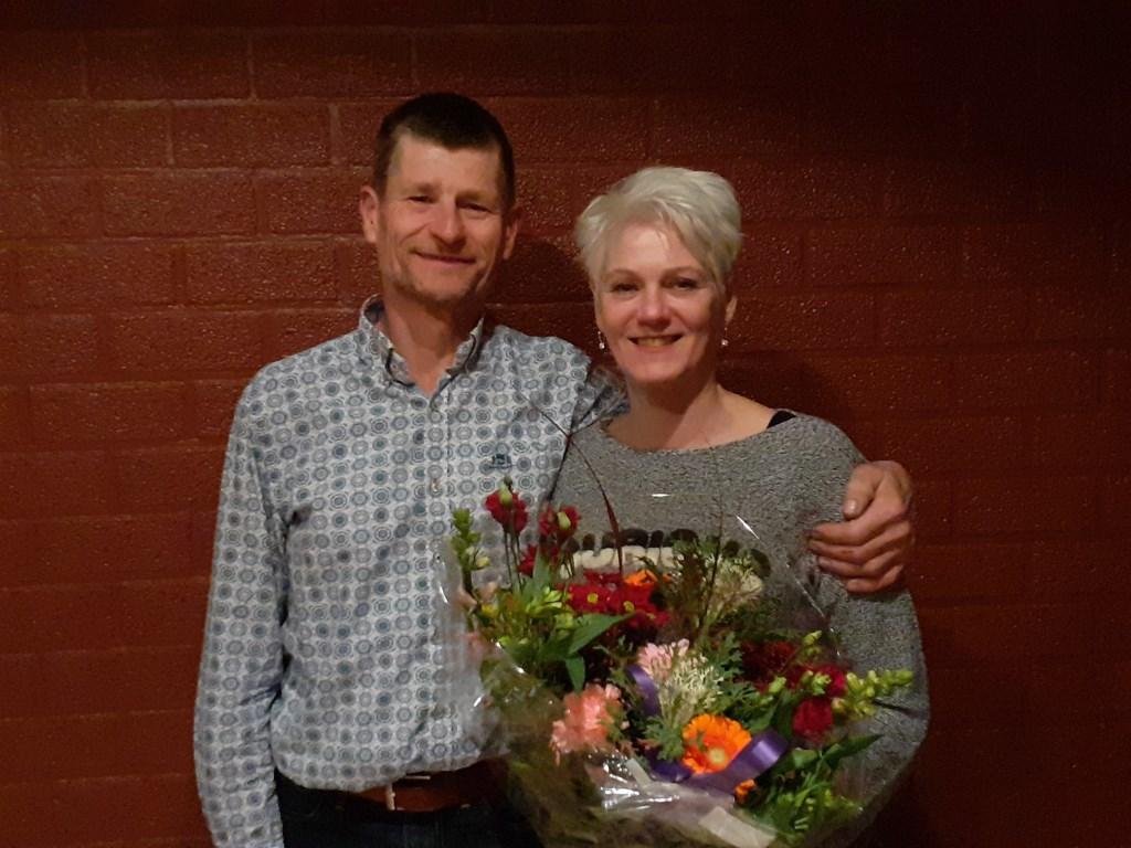 staan Broddy Krabbenborg en zijn vrouw Nardie. Foto: PR  © Achterhoek Nieuws b.v.