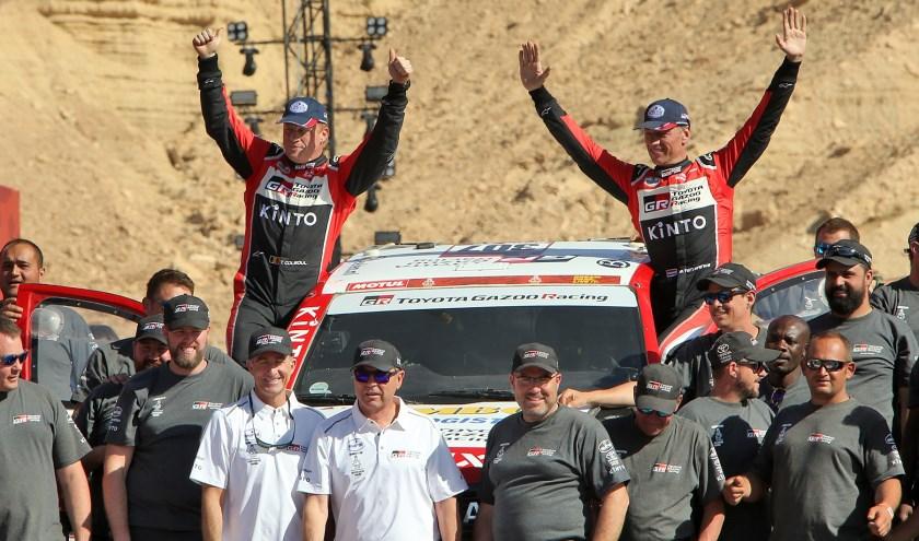 Bernhard ten Brinke en Tom Colsoul evenaren hun beste prestatie ooit. Foto: Willy en Nick Weyens