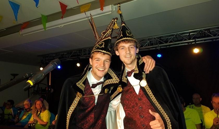 Prins Jelle en Adjudant Pascal. Foto: PR