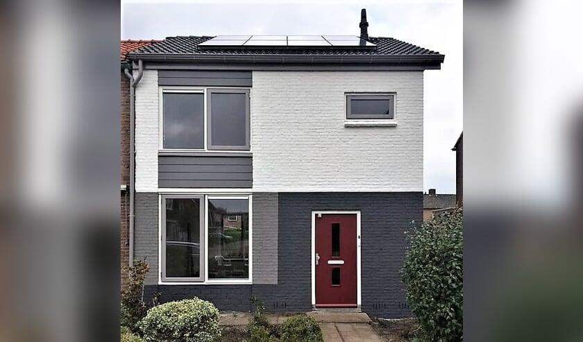 Een net gerenoveerde en duurzaam gemaakte woning van Viverion in de wijk Zuiderenk in Lochem. Foto: Viverion