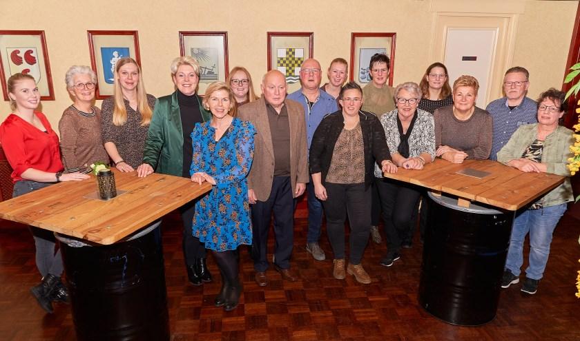 De prijswinnaars van Diner voor 2. Foto: Rudie Kreunen