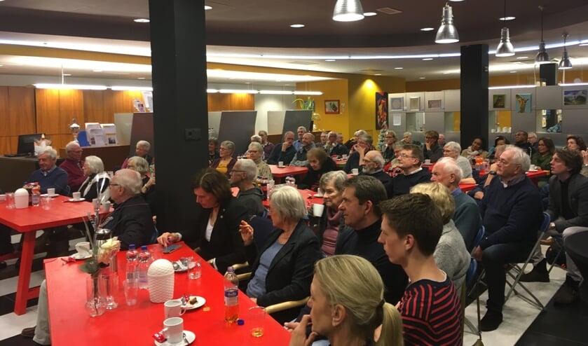 Bijeenkomst in de WUh over woonwensen. Foto: Gerben Beunk