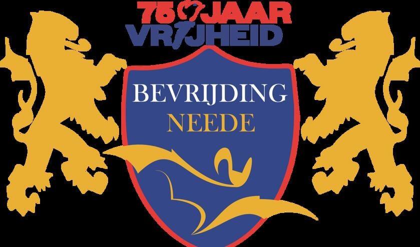 Het logo van 75 Jaar Bevrijding in Neede. Illustratie: PR
