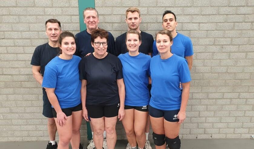 De kampioenen van het toernooi: de familie Walgemoet. Foto: PR