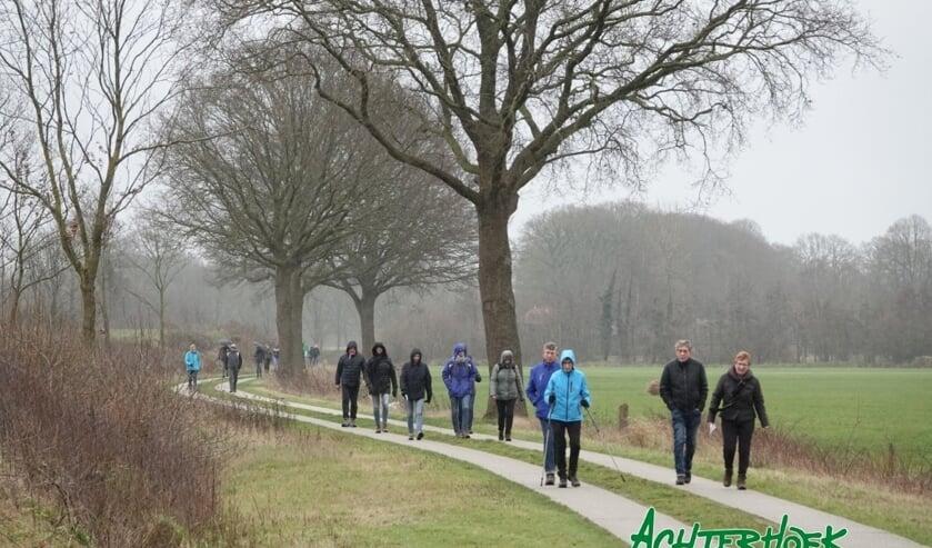 De route voerde onder meer door de Barchemse buurtschap Zwiep. Foto: Achterhoekfoto.nl/Gradus Derksen.
