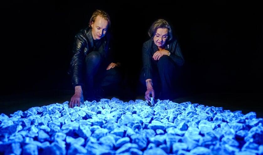 Daan Roosegaarde en Gerdi Verbeet, Levenslicht. Foto: Studio Roosengaarde