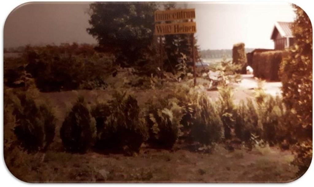Het bord, dat gemaakt werd bij de start in 1983. Foto: eigen foto  © Achterhoek Nieuws b.v.