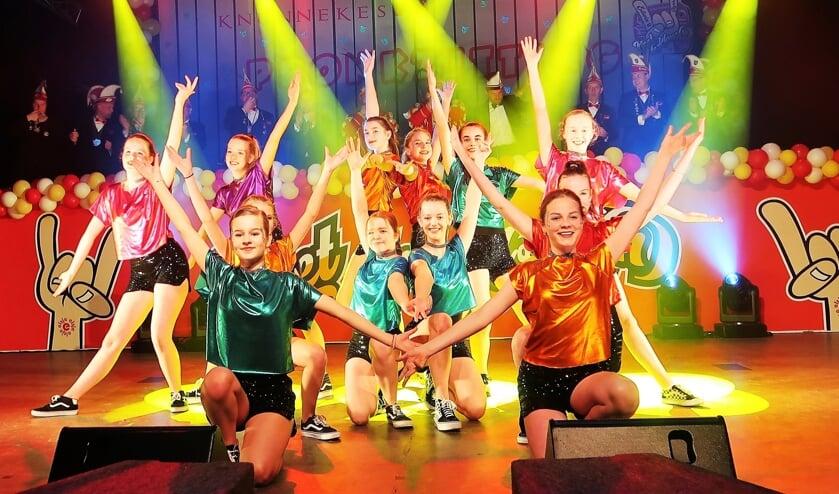 De dansgroep Bazooka. Foto: Theo Huijskes