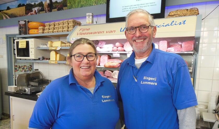 """Henk en Karin Lammers: """"Als slagerij moet je mee met de tijd."""" Foto: Eric Klop"""
